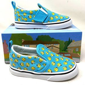 VANS Slip-On V The Simpsons Maggie Canvas Blue Kid